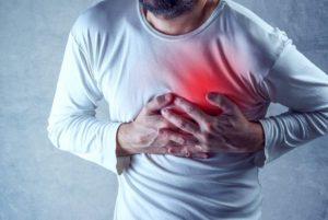Жжение в области сердца, горит лицо