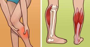 Онемение мышцы