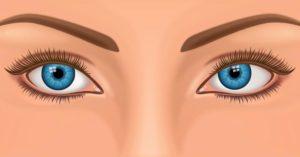 Один глаз немного косит