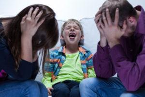 Неуправляемый ребёнок