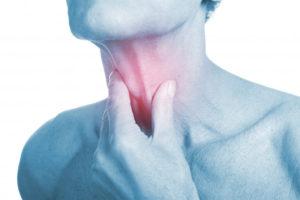 Странная боль в горле