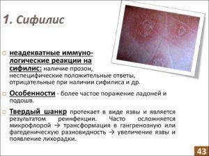Это шанкр сифилиса или нет?