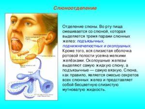 Ощущение волоса в горле, повышенное образование слюны