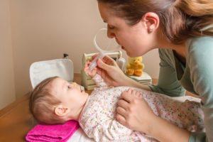Кровь из носа у ребенка при промывании и закапывании