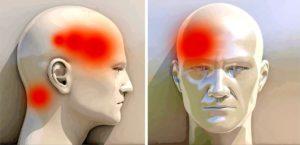 Болит нос и давит на виски