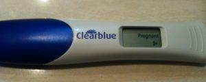 Тест clearblue, ошибка теста