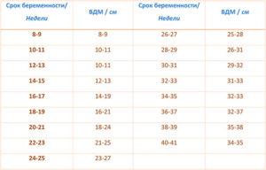 Высота дна матки в 16 недель меньше нормы