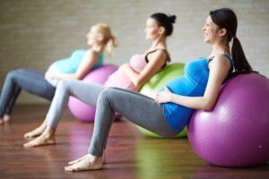 Занятие спортом в период зачатия