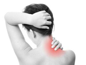 Температура, головная боль и болит шея сзади, жар в теле