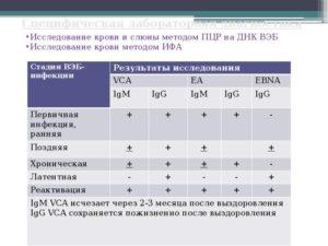 Анализ крови на ВЭП