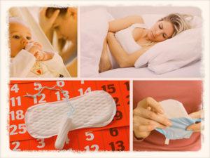 Частые месячные после родов