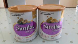 Переход со смеси семпер на семилак алиментум