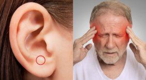 Болит, голова отдает в уши