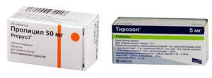 Замена тирозола на пропицил