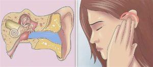 Заложенность уха и головная боль