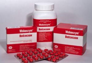 Вобэнзим и спайки