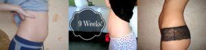 Слишком большой живот для 9 недель беременности.