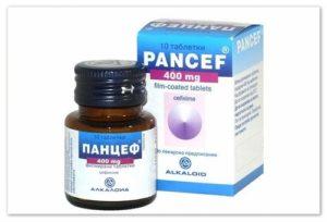 Панцеф и пневмония