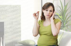 Шум в ухе при беременности