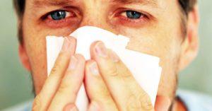 Заложенность носа, боль в глазах