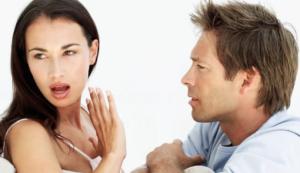 Не стоит на жену