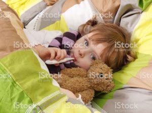 7 месячный малыш простудился