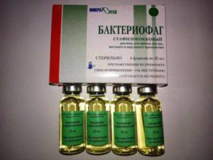 Побочные эффекты от бактериофага