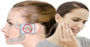 Продуло ухо болит челюсть