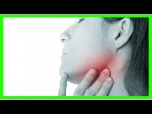 Дискомфорт в шее слева ближе к горлу