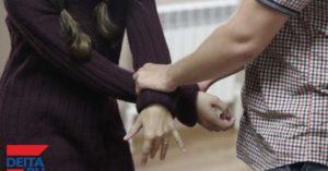 Муж распускает руки
