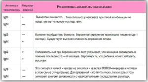 Положительный результат на токсоплазмоз при беременности