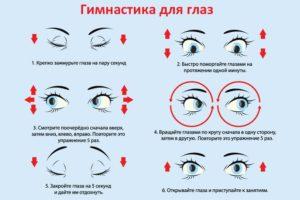 Один глаз видит ярче другого и упражнения для глаз