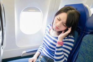 В самолет с отитом