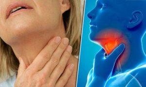 Болит горло с одной стороны