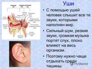 Левое ухо плохо слышит