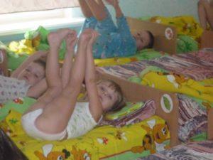 Ребенок (2г1м) после сна не встает на ножки