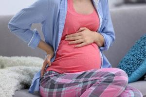 Боли в животе при беременности 6 недель