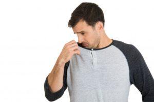 Неприятный запах от кожи