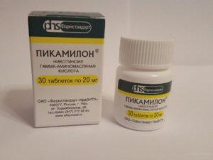 Пикамилон при ВСД