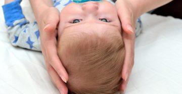 Что делать с шишкой на лбу у младенца с рождения?