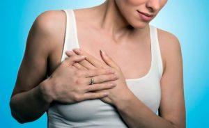 Болит грудь при нажатии боль как от ушиба
